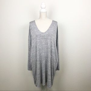 Wilfred Free Gail Long Sleeve Knit Jersey Dress